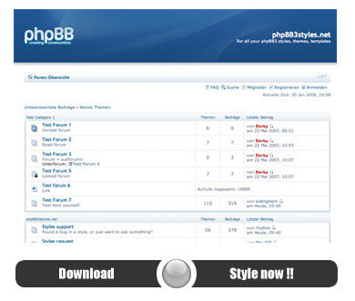 Phpbb • [release] [3. 0. 8] simplecorp clean, simple business theme.